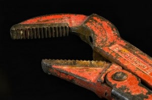 Pipe wrench in Nijmegen